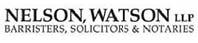 Nelson Watson LLP